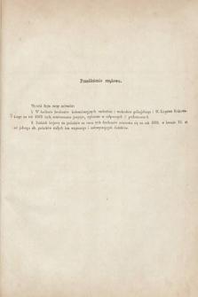 [Kadencja II, sesja II, al.30] Alegata do Sprawozdań Stenograficznych z Drugiej Sesji Drugiego Peryodu Sejmu Galicyjskiego z roku 1868. Alegat30