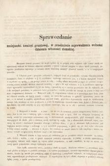 [Kadencja II, sesja II, al. 37a] Alegata do Sprawozdań Stenograficznych z Drugiej Sesji Drugiego Peryodu Sejmu Galicyjskiego z roku 1868. Alegat 37a