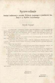 [Kadencja II, sesja II, al.53] Alegata do Sprawozdań Stenograficznych z Drugiej Sesji Drugiego Peryodu Sejmu Galicyjskiego z roku 1868. Alegat53