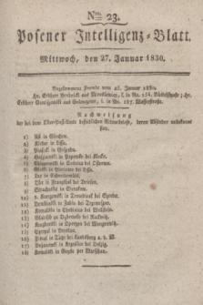 Posener Intelligenz-Blatt. 1830, Nro. 23 (27 Januar)