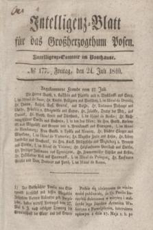 Intelligenz-Blatt für das Großherzogthum Posen. 1840, № 177 (24 Juli)