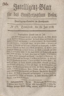 Intelligenz-Blatt für das Großherzogthum Posen. 1840, № 178 (25 Juli)