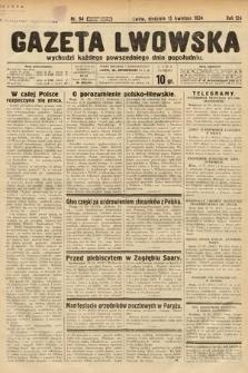 Gazeta Lwowska. 1934, nr94