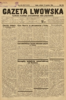 Gazeta Lwowska. 1934, nr95