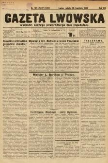 Gazeta Lwowska. 1934, nr105