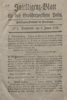 Intelligenz-Blatt für das Großherzogthum Posen. 1841, № 2 (2 Januar)