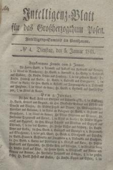 Intelligenz-Blatt für das Großherzogthum Posen. 1841, № 4 (5 Januar)