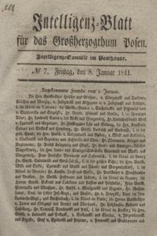 Intelligenz-Blatt für das Großherzogthum Posen. 1841, № 7 (8 Januar) + dod.
