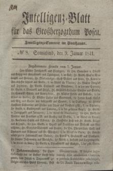 Intelligenz-Blatt für das Großherzogthum Posen. 1841, № 8 (9 Januar)