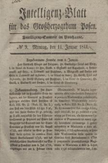 Intelligenz-Blatt für das Großherzogthum Posen. 1841, № 9 (11 Januar)