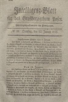 Intelligenz-Blatt für das Großherzogthum Posen. 1841, № 10 (12 Januar)