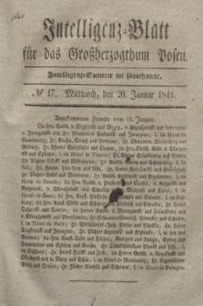 Intelligenz-Blatt für das Großherzogthum Posen. 1841, № 17 (20 Januar)