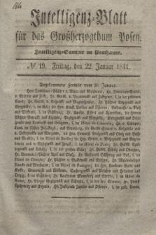 Intelligenz-Blatt für das Großherzogthum Posen. 1841, № 19 (22 Januar)