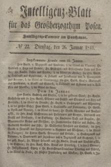 Intelligenz-Blatt für das Großherzogthum Posen. 1841, № 22 (26 Januar)
