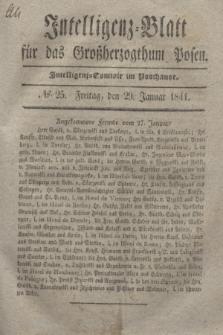 Intelligenz-Blatt für das Großherzogthum Posen. 1841, № 25 (29 Januar)