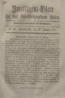 Intelligenz-Blatt für das Großherzogthum Posen. 1841, № 26 (30 Januar)