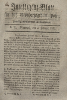 Intelligenz-Blatt für das Großherzogthum Posen. 1841, № 29 (3 Februar)