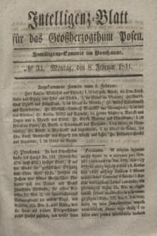 Intelligenz-Blatt für das Großherzogthum Posen. 1841, № 33 (8 Februar)