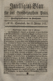 Intelligenz-Blatt für das Großherzogthum Posen. 1841, № 38 (13 Februar)