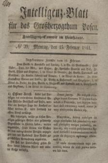 Intelligenz-Blatt für das Großherzogthum Posen. 1841, № 39 (15 Februar)