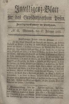 Intelligenz-Blatt für das Großherzogthum Posen. 1841, № 41 (17 Februar)