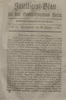 Intelligenz-Blatt für das Großherzogthum Posen. 1841, № 44 (20 Februar)