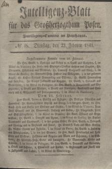 Intelligenz-Blatt für das Großherzogthum Posen. 1841, № 46 (23 Februar)