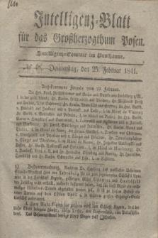 Intelligenz-Blatt für das Großherzogthum Posen. 1841, № 48 (25 Februar)