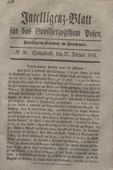 Intelligenz-Blatt für das Großherzogthum Posen. 1841, № 50 (27 Februar)