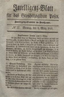 Intelligenz-Blatt für das Großherzogthum Posen. 1841, № 57 (8 März)