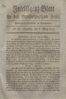 Intelligenz-Blatt für das Großherzogthum Posen. 1841, № 58 (9 März)