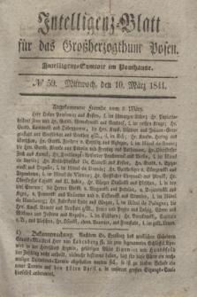 Intelligenz-Blatt für das Großherzogthum Posen. 1841, № 59 (10 März)