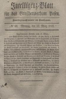 Intelligenz-Blatt für das Großherzogthum Posen. 1841, № 69 (22 März)