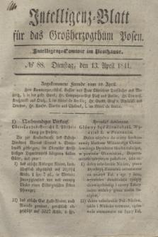 Intelligenz-Blatt für das Großherzogthum Posen. 1841, № 88 (13 April)