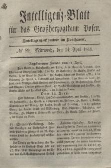 Intelligenz-Blatt für das Großherzogthum Posen. 1841, № 89 (14 April)
