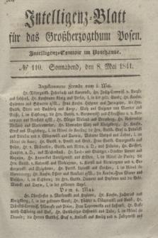 Intelligenz-Blatt für das Großherzogthum Posen. 1841, № 110 (8 Mai) + dod.