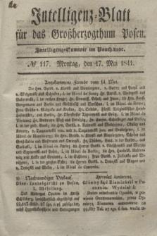Intelligenz-Blatt für das Großherzogthum Posen. 1841, № 117 (17 Mai)