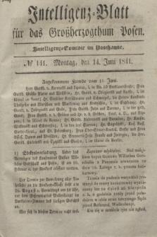 Intelligenz-Blatt für das Großherzogthum Posen. 1841, № 141 (14 Juni) + dod.