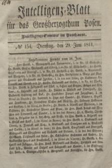 Intelligenz-Blatt für das Großherzogthum Posen. 1841, № 154 (29 Juni)