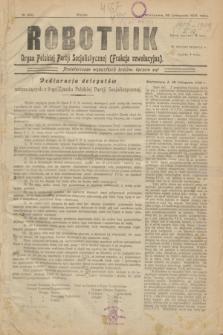 Robotnik : organ Polskiej Partji Socjalistycznej (Frakcja Rewolucyjna). 1906, № 200 (30 listopada)