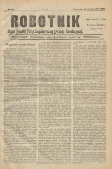 Robotnik : organ Polskiej Partji Socjalistycznej (Frakcja Rewolucyjna). 1906, № 203 (22 grudnia)