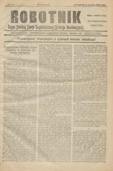 Robotnik : organ Polskiej Partji Socjalistycznej (Frakcja Rewolucyjna). 1906, № 204 (31 grudnia)