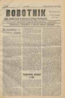 Robotnik : organ Polskiej Partji Socjalistycznej (Frakcja Rewolucyjna). 1907, № 207 (25 stycznia)