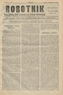 Robotnik : organ Polskiej Partji Socjalistycznej (Frakcja Rewolucyjna). 1907, № 208 (1 lutego)