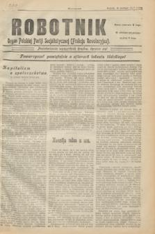 Robotnik : organ Polskiej Partji Socjalistycznej (Frakcja Rewolucyjna). 1907, № 210 (15 lutego)