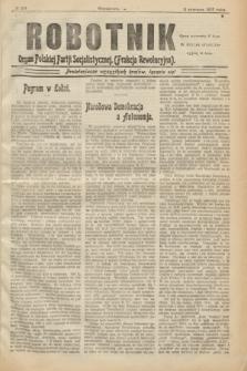 Robotnik : organ Polskiej Partji Socjalistycznej (Frakcja Rewolucyjna). 1907, № 218 (2 czerwca)