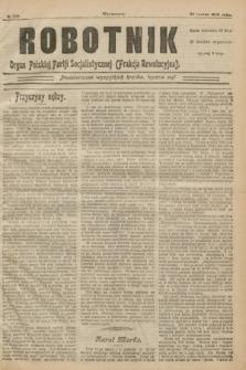 Robotnik : organ Polskiej Partji Socjalistycznej (Frakcja Rewolucyjna). 1908, № 228 (23 marca)