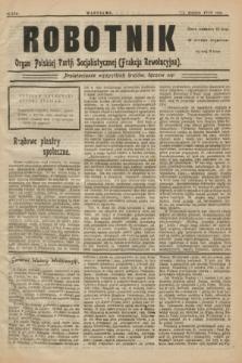 Robotnik : organ Polskiej Partji Socjalistycznej (Frakcja Rewolucyjna). 1908, nr 232 (12 września)