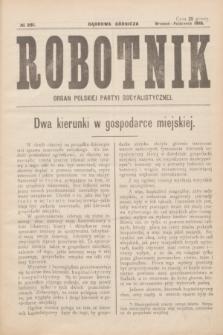 Robotnik : organ Polskiej Partyi Socyalistycznej. 1916, № 281 (wrzesień-październik)