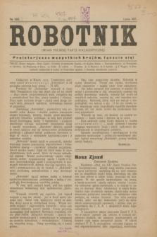 Robotnik : organ Polskiej Partji Socjalistycznej. 1917, № 283 (lipiec)